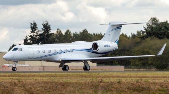 Gulfstream G550 #5349